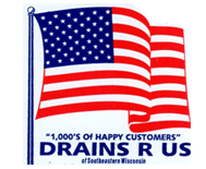 Drains R Us of Southeastern Wisconsin, Logo
